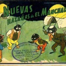 Libros de segunda mano: CONSTANCIO C. VIGIL : NUEVAS HAZAÑAS DE EL MANCHADO. Lote 36842783