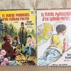 Libros de segunda mano: 3041- EL VIATGE PRODIGIOS D'EN FERRAN PINYOL. ROBERT SALADRIGAS. EDIT. ABADIA DE MONTSERRAT. 1971/78. Lote 36887853