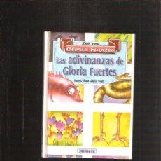 Libros de segunda mano: ADIVINANZAS DE GLORIA FUERTES. Lote 37102210