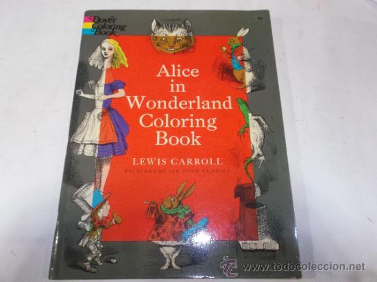 alice in wonderland. coloring book. lewis car - Comprar Libros de ...