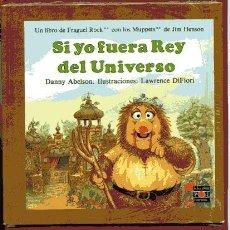 Libros de segunda mano: SI YO FUERA REY DEL UNIVERSO LIBRO FRAGUEL ROCK ILUSTRACIONES SUE VENNING 20,5X 20,5 CM TAPA BLANDA. Lote 96057930