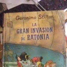 Libros de segunda mano: LA GRAN INVASIÓN DE RATONIA (MADRID 2009). Lote 37478117