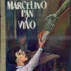 Libros de segunda mano: JOSÉ MARÍA SÁNCHEZ SILVA : MARCELINO PAN Y VINO (DONCEL, 1962). Lote 37493621