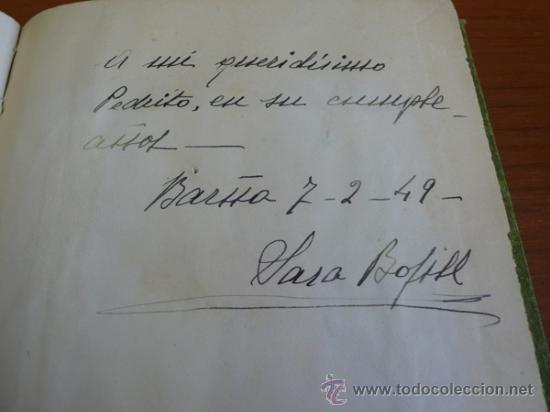 Libros de segunda mano: LAGARTIJAS, CUENTO DE SARA BOFILL. MECANOESCRITO, ILUSTRACIONES ORIGINALES Y DEDICADO. 1949. - Foto 2 - 37586761
