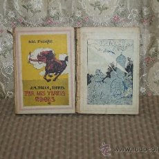 Libros de segunda mano: 3355- EL GEGANT DEL AIRES Y PER LES TORRES ROGES. J.M. FOLCH Y TORRES. EDIT. BAGUEÑA.1915/1934.. Lote 37580548