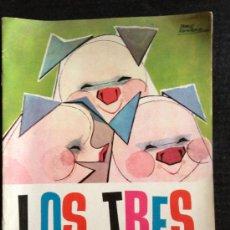Libros de segunda mano: LOS TRES CERDITOS - NUEVOS CUENTOS MOLINO - ILUSTRACIONES PABLO RAMIREZ - 1961. Lote 37914727