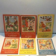 Libros de segunda mano: 8 CUENTOS DE LA COLECCION CAMPANILLAS. EDITORIAL ROMA. MEDIADOS S. XX. Lote 37953281