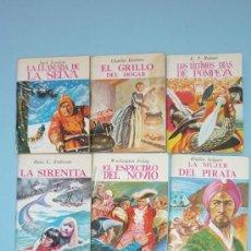Libros de segunda mano: 7 MINILIBROS DE LA MINIBIBLIOTECA DE LA LITERATURA UNIVERSAL. G. FERRE. AÑO 1983. Lote 38015109