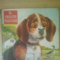 Libros de segunda mano: EL PERRITO TRAVIESO CUENTOS FHER COLECCION CONOCE A LOS ANIMALES. Lote 38119093