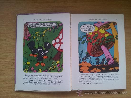 Libros de segunda mano: ANTIGUO LIBRO COLECCION DIN DAN, LA CIGARRA Y LA HORMIGA, 1974. - Foto 2 - 38193615