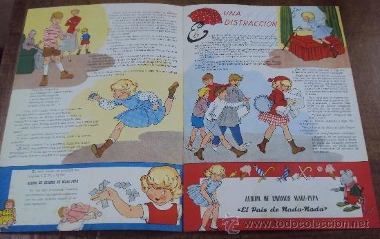 Libros de segunda mano: COSAS DE MARI PEPA Nº 49. COMPLETO CON RECORTABLES. AÑO 1956. MARIA CLARET Y EMILIA COTARELO - Foto 3 - 38319142