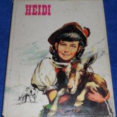 Libros de segunda mano: HEIDI - COLECCIÓN CRIS - FHER (1ª EDICIÓN 1970). Lote 38469772