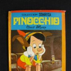 Libros de segunda mano: PINOCHO.COLECCION SONRISA Nº 6.EDICIONES RECREATIVAS 1971.. Lote 262946220