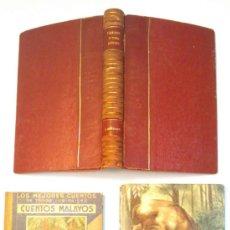 Libros de segunda mano: OFERTA 3 LIBROS DE CUENTOS PARA NIÑOS. LAS MIL Y UNA NOCHES, CUENTOS MALAYOS Y TUSKA, EL JABALI.. Lote 38518969
