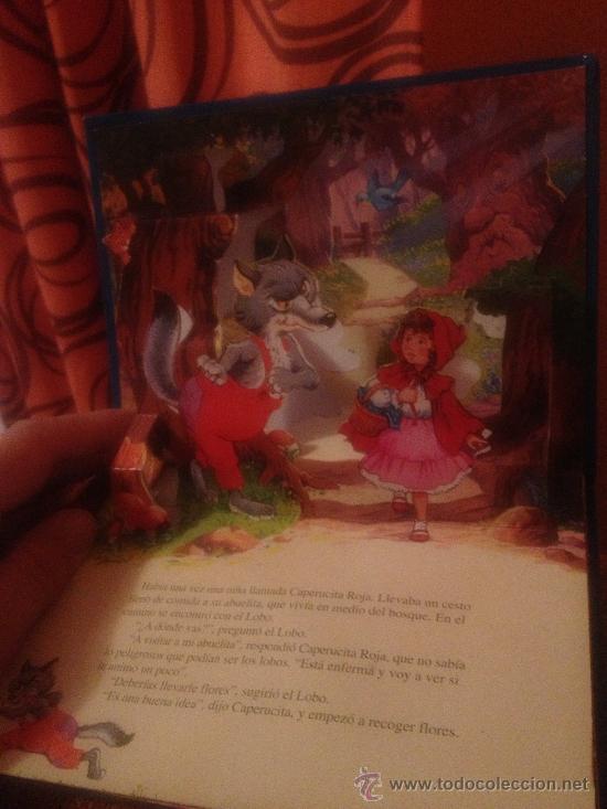 'CAPERUCITA ROJA'. CUENTO 3D. DIORAMA POP-UP. (Libros de Segunda Mano - Literatura Infantil y Juvenil - Cuentos)