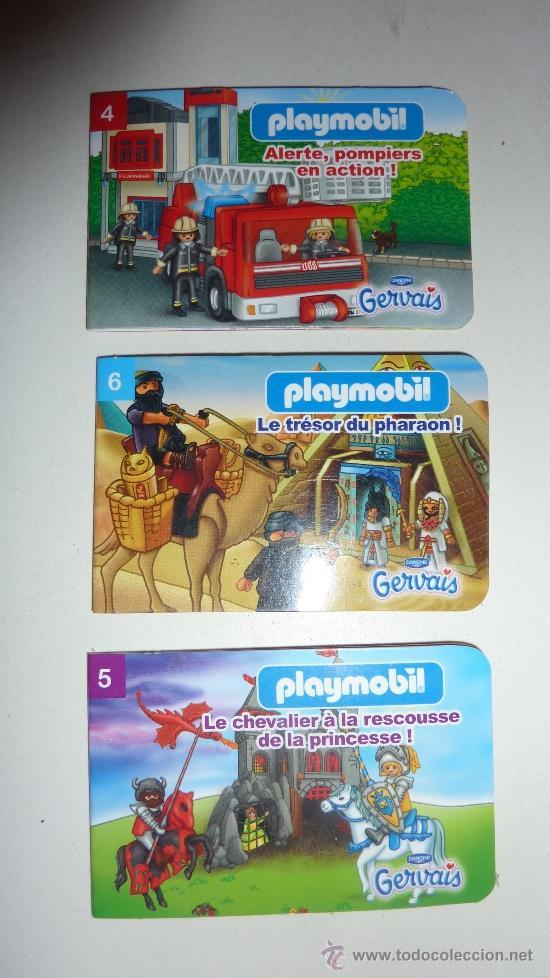 Mini cuentos playmobil danone 2010 4 5 comprar for Playmobil segunda mano