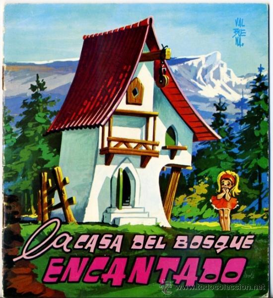 cuento coleccin cometa roja valbuena la casa del bosque encantado