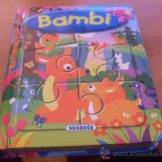 Libros de segunda mano: BAMBI. CUENTO CON 6 PUZZLES (SUSAETA) (LE6). Lote 38731051