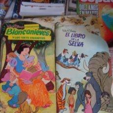 Libros de segunda mano: TROQUELADO DISNEY Nº 8 - BLANCANIEVES Y LOS SIETE ENANITOS - MOLINO 1969 - SIN USO-STOCK DE KIOSKO. Lote 38737218