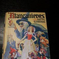 Libros de segunda mano: BLANCANIEVES Y LOS SIETE ENANOS. Lote 38767465