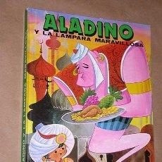 Libros de segunda mano: ALADINO Y LA LÁMPARA MARAVILLOSA. CARMELO GARMENDIA. DALMAU SOCÍAS / EDITORS 1986. CARTOON.. Lote 38770416