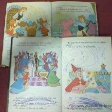 Libros de segunda mano: CENICIENTA LA BELLA DURMIENTE DISNEY. Lote 38842876
