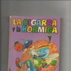 Libros de segunda mano: LA CIGARRA Y LA HORMIGA. COLECCION DIN-DAN. Nº 8. EDITORIAL BRUGUERA. . Lote 38930495