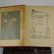 Libros de segunda mano: 6004 - PETER PAN I WENDY. J.M. BARRIE. EDIT. JOVENTUT. 1935.. Lote 39262289
