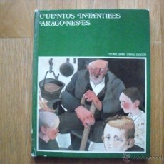 Libros de segunda mano: CUENTOS INFANTILES ARAGONESES, EDITORIAL LIBRERIA GENERAL ZARAGOZA. Lote 39399297