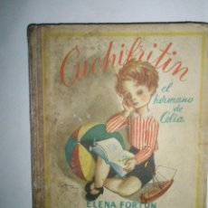 Libros de segunda mano: FORTÚN, E.: CUCHIFRITÍN, HERMANO DE CELIA. (1957). Lote 39455218