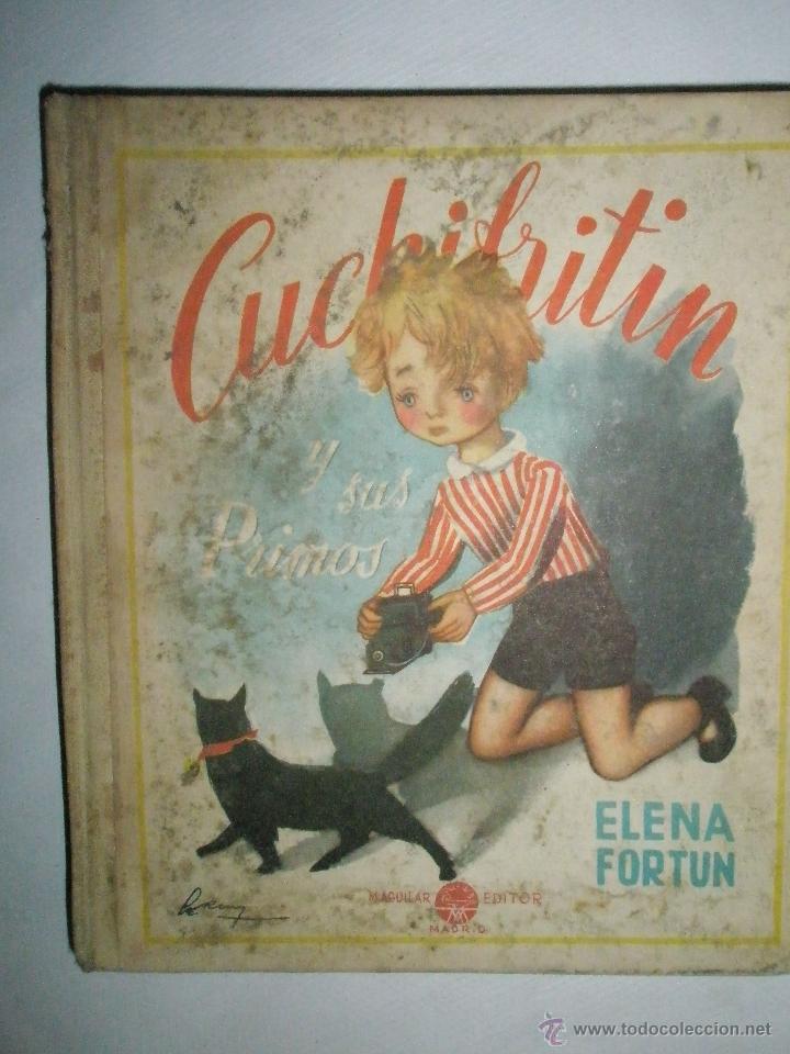 FORTÚN, E.: CUCHIFRITÍN Y SUS PRIMOS (1957) (Libros de Segunda Mano - Literatura Infantil y Juvenil - Cuentos)