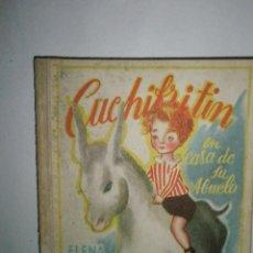Libros de segunda mano: FORTÚN, E.: CUCHIFRITÍN, EN CASA DE SU ABUELO. (1957). Lote 39455350