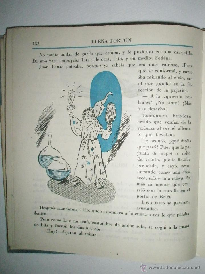 Libros de segunda mano: Fortún, E.: Celia novelista. (1946) - Foto 6 - 39455527