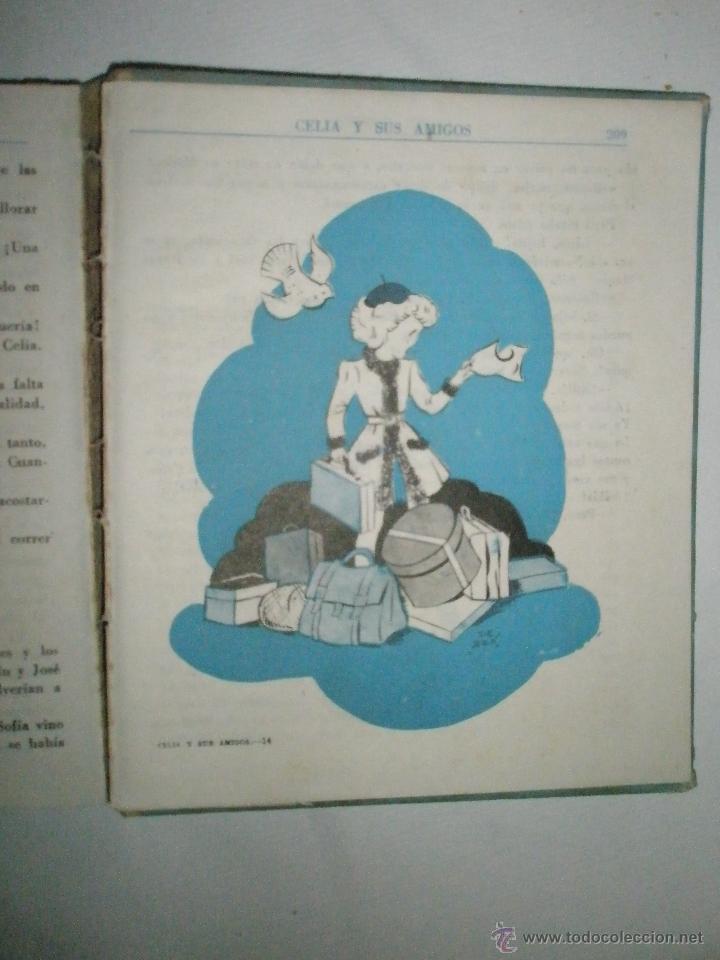 Libros de segunda mano: Fortún, E.: Celia y sus amigos - Foto 6 - 39455593
