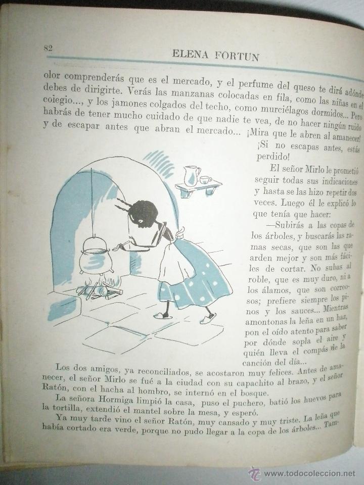 Libros de segunda mano: Fortún, E.: Los cuentos que Celia cuenta a las niñas. (1950) - Foto 6 - 39455639