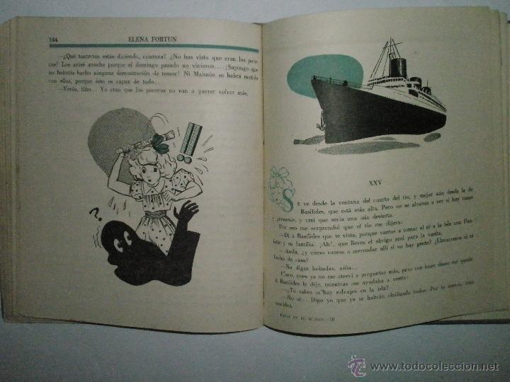 Libros de segunda mano: Fortún, E.: Celia en el mundo. - Foto 5 - 39455697