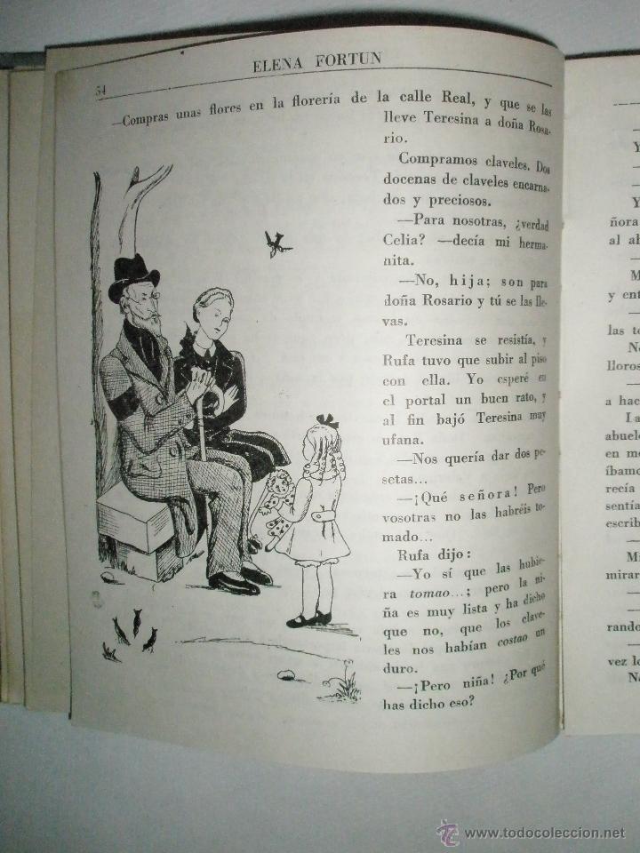 Libros de segunda mano: Fortún, E.: Celia madrecita - Foto 4 - 39455893