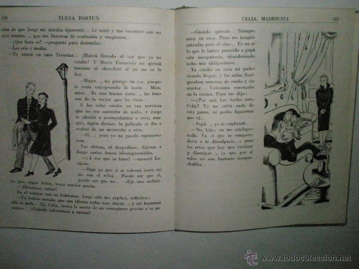 Libros de segunda mano: Fortún, E.: Celia madrecita - Foto 6 - 39455893