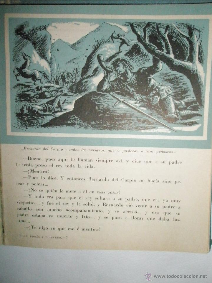 Libros de segunda mano: Fortún, E.: Mila, Piolín y el Burro (1955) - Foto 7 - 39455944