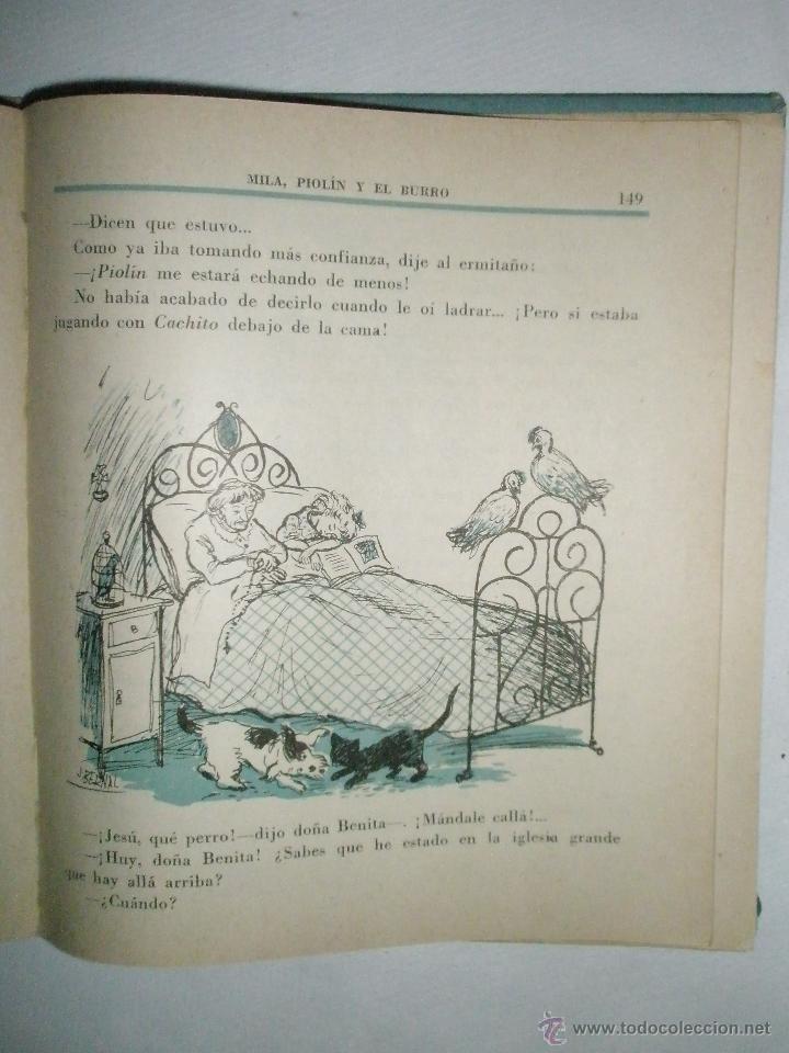 Libros de segunda mano: Fortún, E.: Mila, Piolín y el Burro (1955) - Foto 8 - 39455944