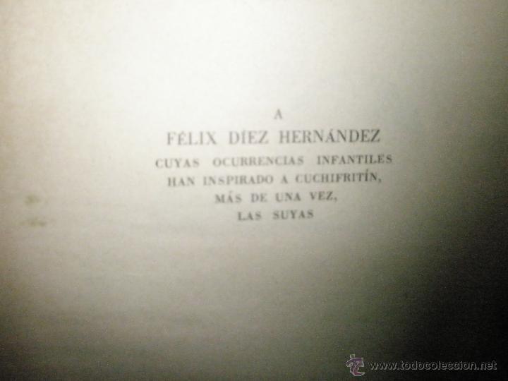 Libros de segunda mano: Fortún, E.: Cuchifritín, hermano de Celia. (1957) - Foto 4 - 39455218