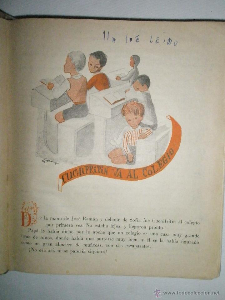 Libros de segunda mano: Fortún, E.: Cuchifritín, hermano de Celia. (1957) - Foto 5 - 39455218