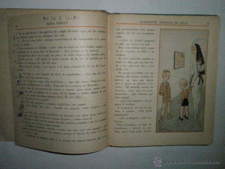 Libros de segunda mano: Fortún, E.: Cuchifritín, hermano de Celia. (1957) - Foto 6 - 39455218