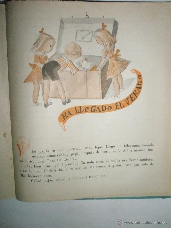 Libros de segunda mano: Fortún, E.: Cuchifritín, hermano de Celia. (1957) - Foto 9 - 39455218
