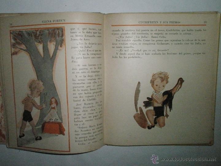 Libros de segunda mano: Fortún, E.: Cuchifritín y sus Primos (1957) - Foto 3 - 39455287