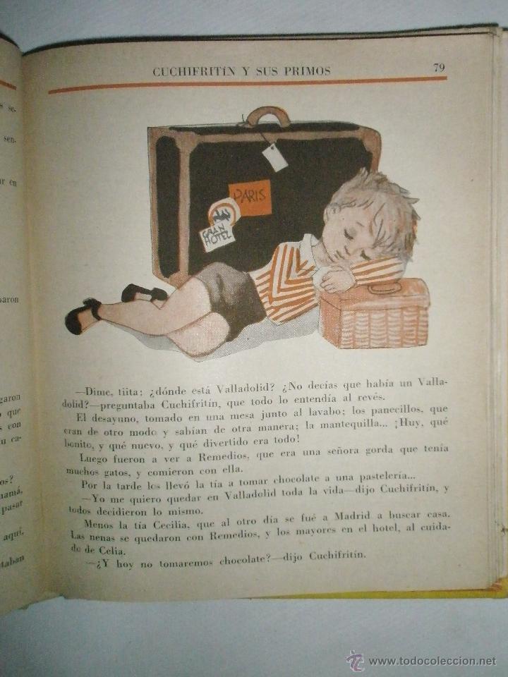Libros de segunda mano: Fortún, E.: Cuchifritín y sus Primos (1957) - Foto 4 - 39455287