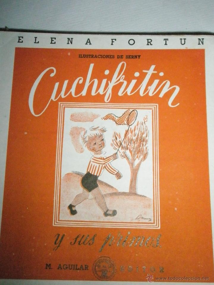 Libros de segunda mano: Fortún, E.: Cuchifritín y sus Primos (1957) - Foto 9 - 39455287
