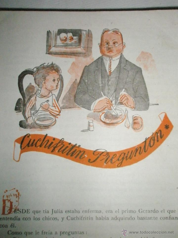 Libros de segunda mano: Fortún, E.: Cuchifritín y sus Primos (1957) - Foto 10 - 39455287