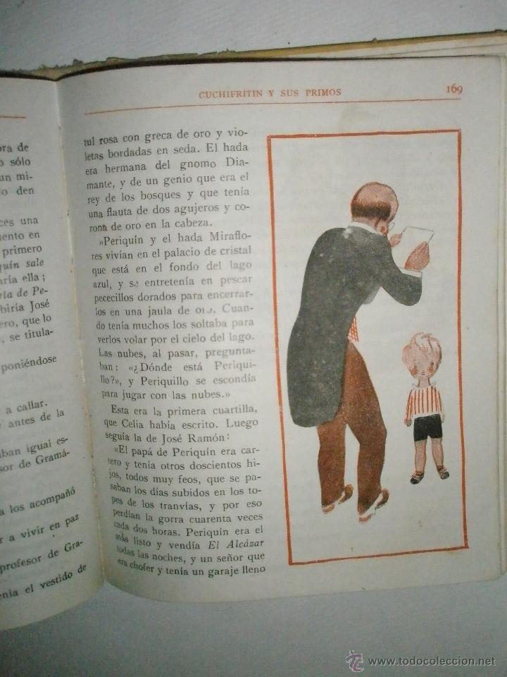 Libros de segunda mano: Fortún, E.: Cuchifritín y sus Primos (1957) - Foto 13 - 39455287