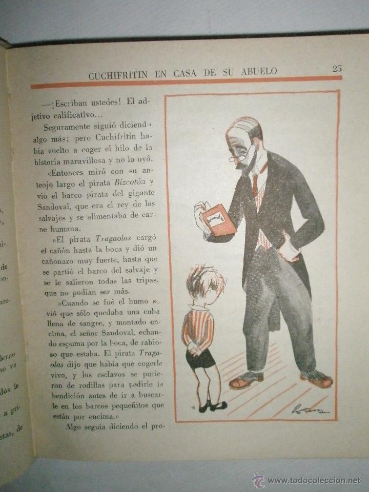 Libros de segunda mano: Fortún, E.: Cuchifritín, en casa de su abuelo. (1957) - Foto 3 - 39455350